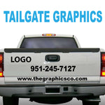 TAILGATE GRAPHICS VINYL DECALS DESIGN FOUR