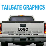 TAILGATE GRAPHICS VINYL DECALS DESIGN SIX