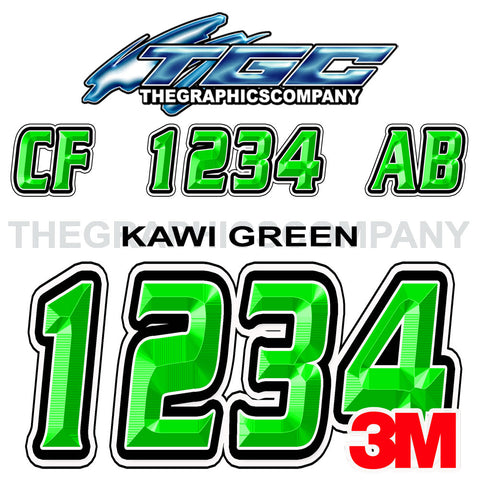 Kawi Green Boat Registration Numbers