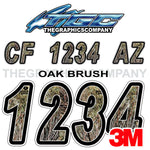 Oak Brush Boat Registration Numbers