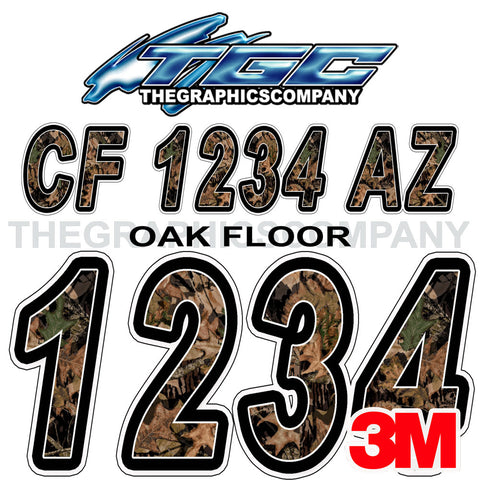 Oak Floor Boat Registration Numbers