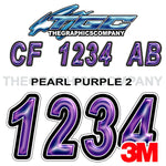 Pearl Purple 2 Boat Registration Numbers