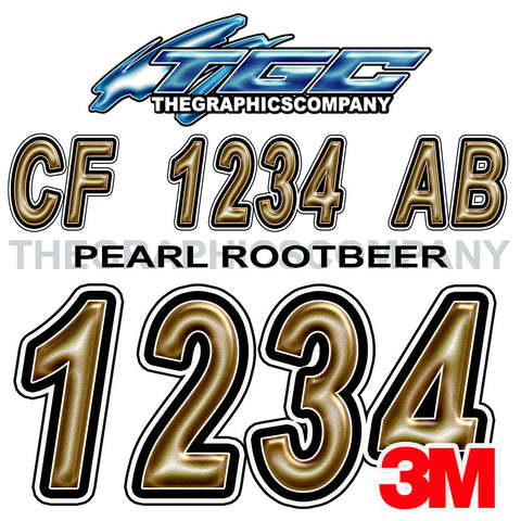 Pearl Rootbeer Boat Registration Numbers