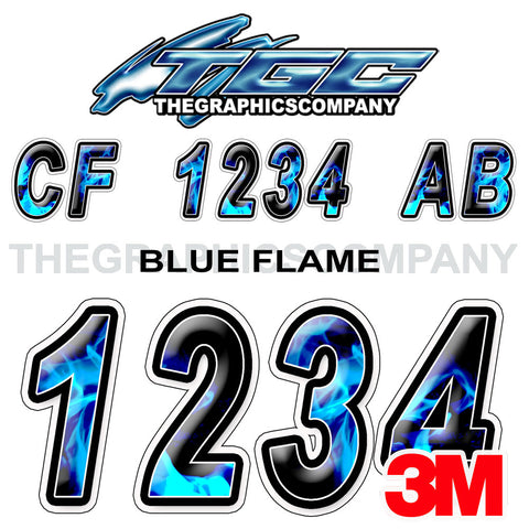 Blue Flame Boat Registration Numbers