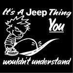 It's aJeep thing Decal