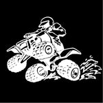 Atv Wheely Decal