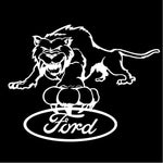 Tiger Ford Decal