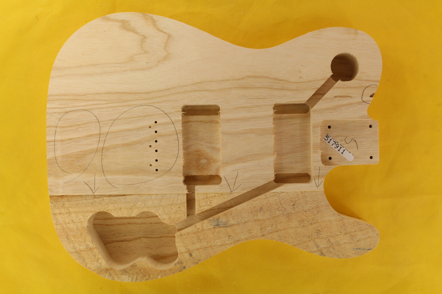 TC BODY 3pc Swamp Ash 1.9 Kg - 517911