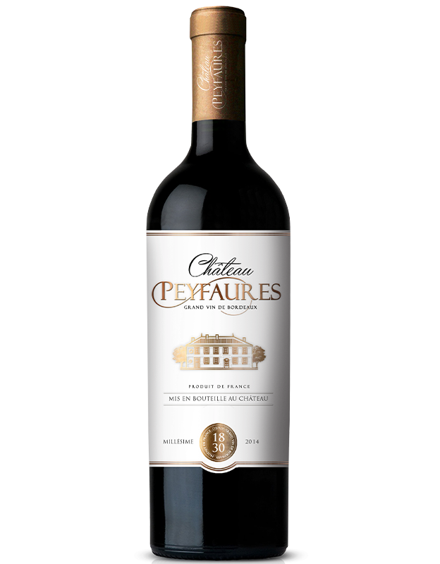 Load image into Gallery viewer, CHATEAU PEYFAURES 2014 - GRAND VIN DE BORDEAUX - MILLÉSIME 2014
