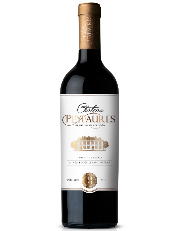 Load image into Gallery viewer, CHATEAU PEYFAURES 2015 GRAND VIN DE BORDEAUX - MILLÉSIME