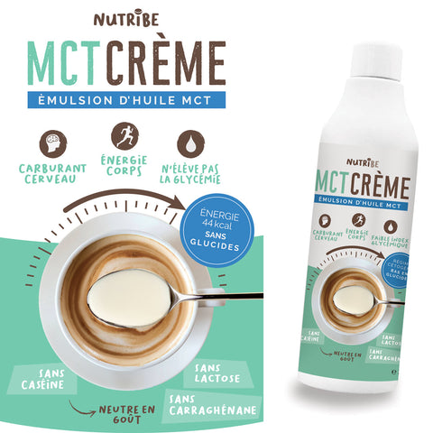 Nutribe MCT Crème packaging