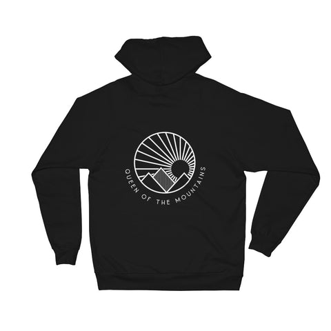 Queen Of The Mountains | Unisex Fleece Hoodie