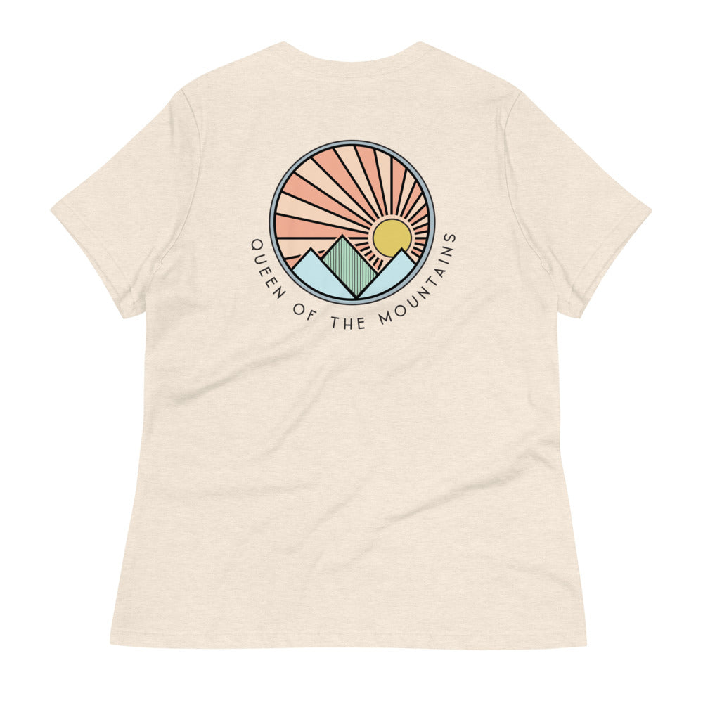 Queen Of The Mountains | Women's Relaxed T-Shirt