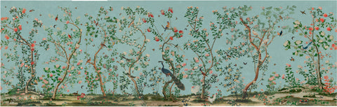 18th Centurary wall paper based on the Chinese style