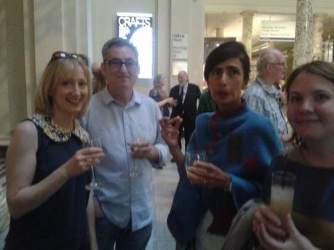 Crafts Council Party @ V & A