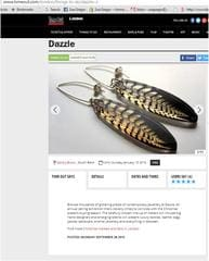 Chosen by Dazzle exhibitions to represent them for lONDON EXHIBITION @ OXO TOWER 2015