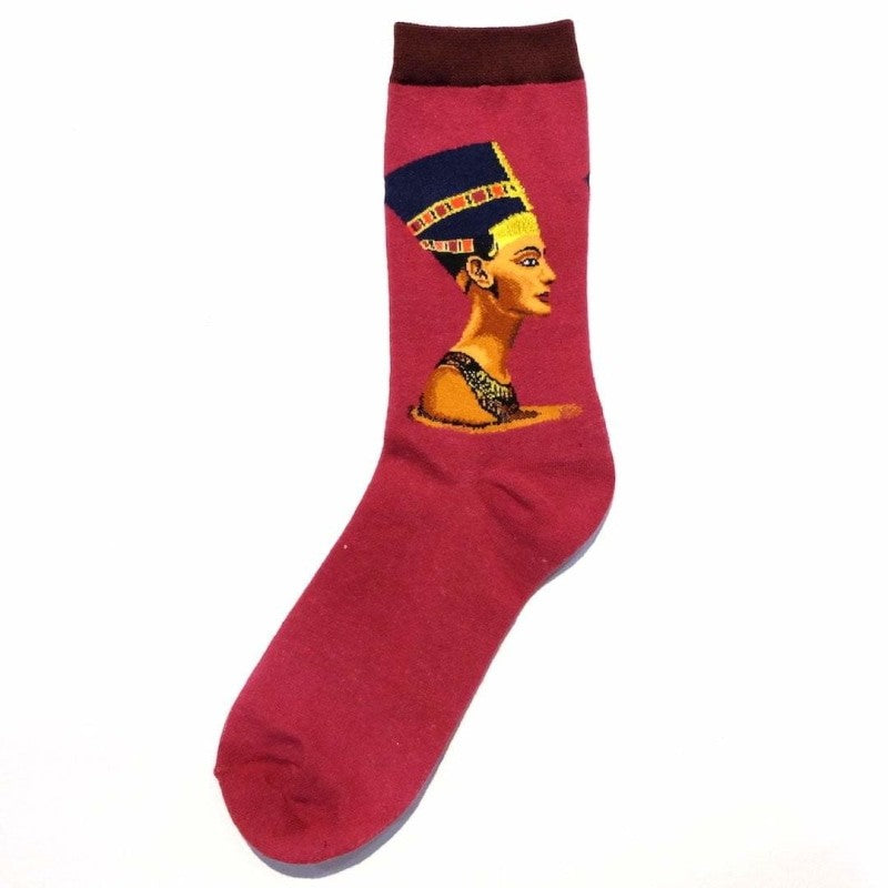 Vintage Art Socks - xureshop