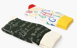 Math and Science Socks