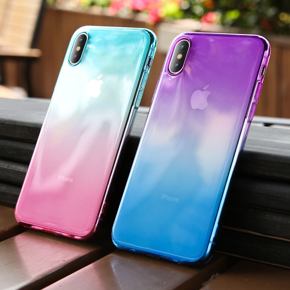 Gradient Clear Soft Case