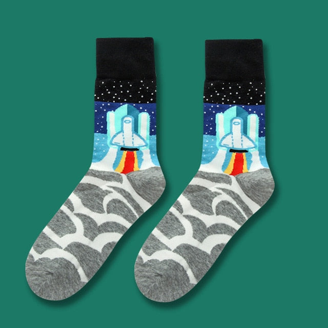Vibrant Casual Socks