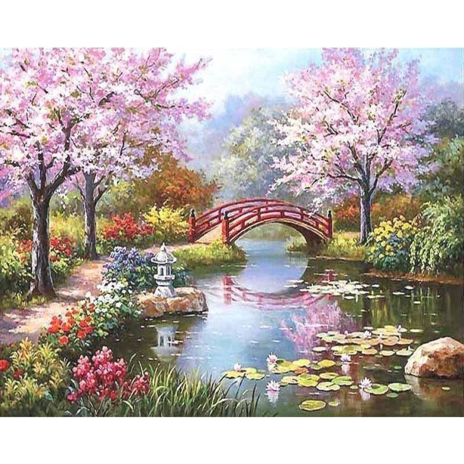 DIY Painting By Numbers - Romantic Fairyland