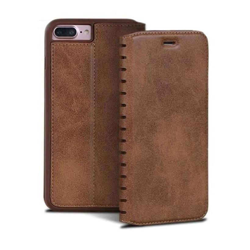 Leather Flip Case for 7, 8, 7+ and 8+