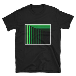 Chest Portal (Evil Green Logo) Short-Sleeve Unisex T-Shirt - World Wide Basement Vibes