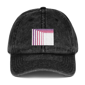 Skull Portal (Pink Logo Embroidery) Vintage Cotton Twill Cap (2 color choices) - World Wide Basement Vibes