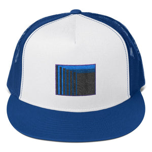Skull Portal (Blue Logo Embroidery) Trucker Cap (3 color choices) - World Wide Basement Vibes