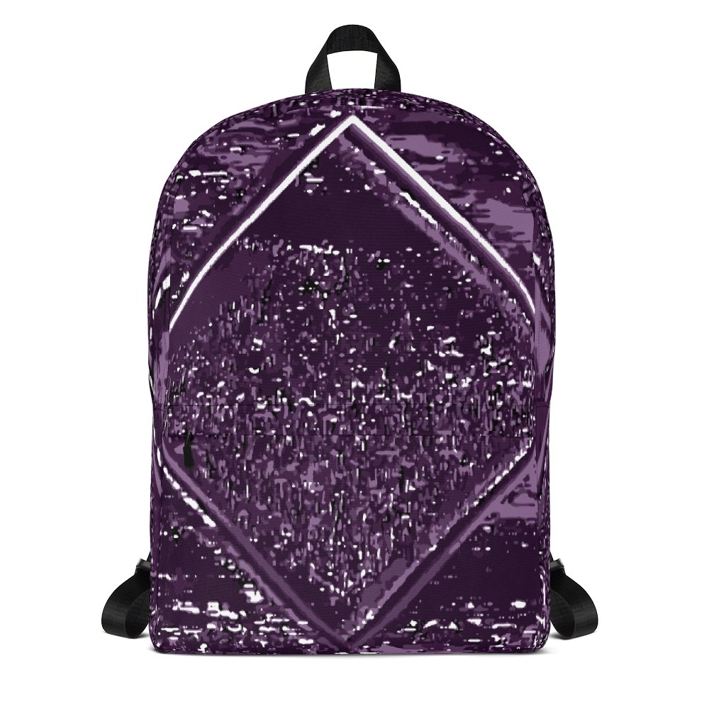 Droste Diamond Youth Backpack - World Wide Basement Vibes