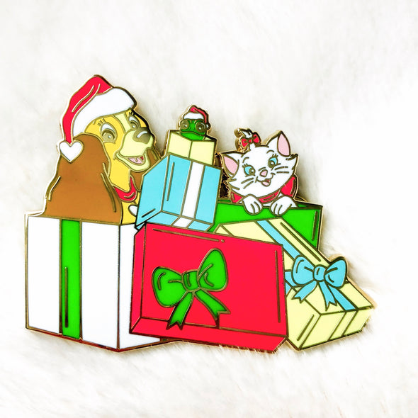 Christmas Pals Pin