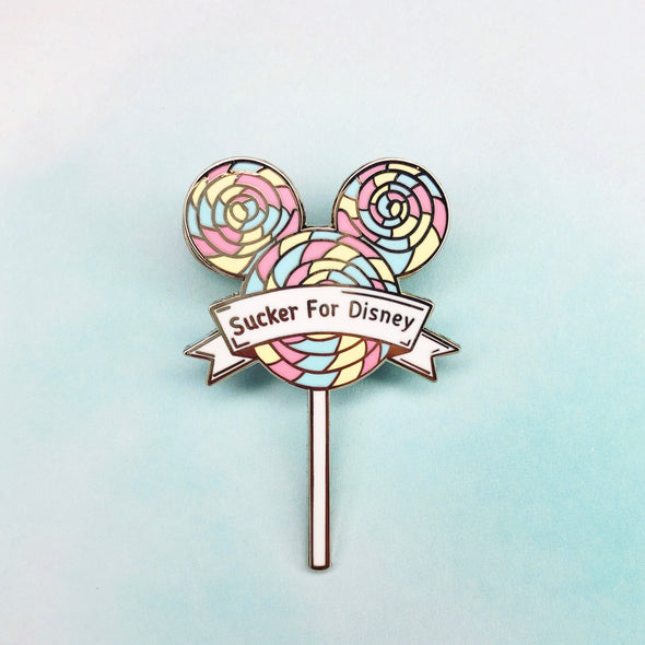 Swirl Lollipop Pin