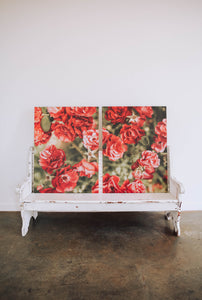 Rose Floral Prints (Set of two)