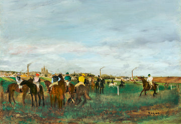 The Races Vintage Print Download