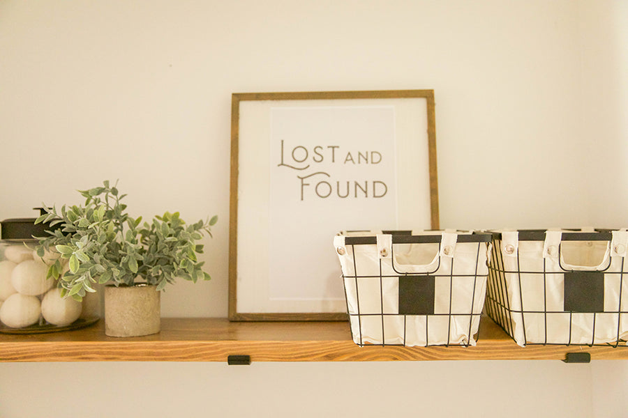 Lost and Found Print Download