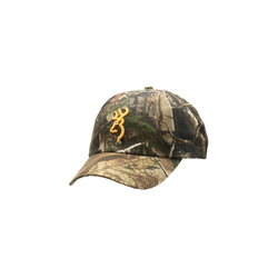 Browning Realtree Xtra Camo Cap w/Orange Buckmark