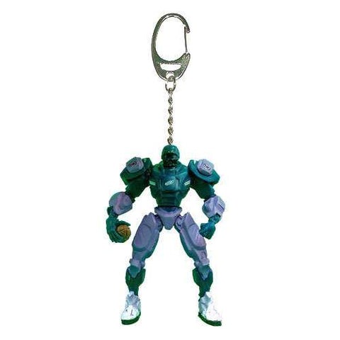 Philadelphia Eagles Keychain Fox Robot 3 Inch Mini Cleatus