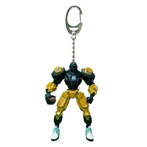 Pittsburgh Steelers Keychain Fox Robot 3 Inch Mini Cleatus
