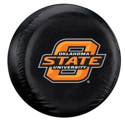 Oklahoma State Cowboys Black Tire Cover - Standard Size