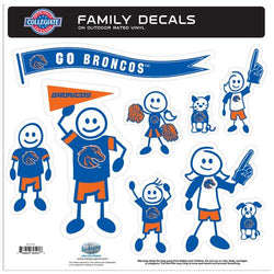 BOISE ST 2ND EDTN FAM DECAL LG