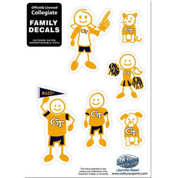 GA TECH 2ND EDTN FAM DECAL SM