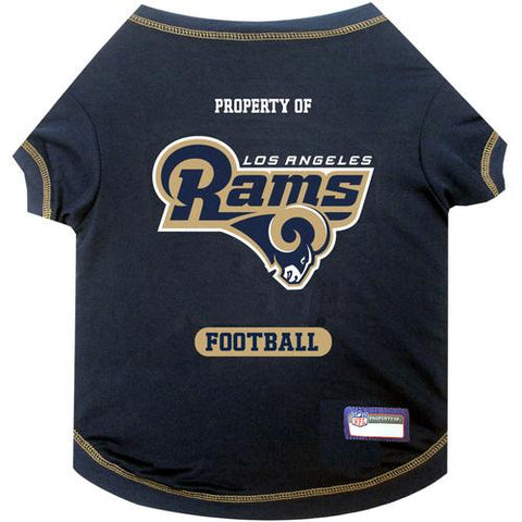 Los Angeles Rams Pet Shirt MD