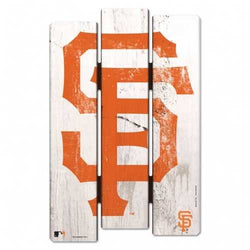 San Francisco Giants Sign 11x17 Wood Fence Style