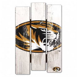 Missouri Tigers Sign 11x17 Wood Fence Style