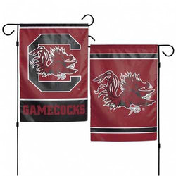 South Carolina Gamecocks Flag 12x18 Garden Style 2 Sided