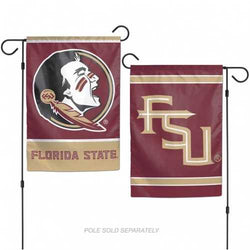 Florida State Seminoles Flag 12x18 Garden Style 2 Sided