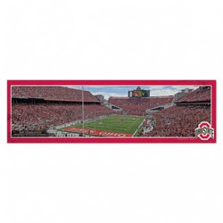 Ohio State Buckeyes Stadium Wood Sign - 9x30