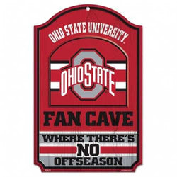 Ohio State Buckeyes Wood Sign - 11