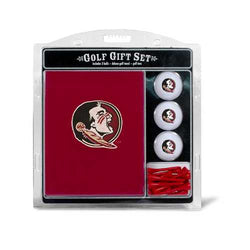 Florida State Seminoles Golf Gift Set with Embroidered Towel