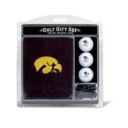 Iowa Hawkeyes Golf Gift Set with Embroidered Towel